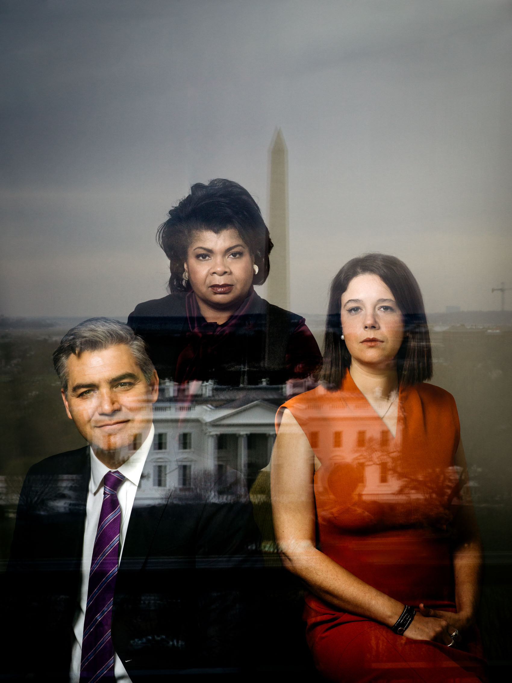 Washington DC portrait photography white house correspondents Jim Acosta April ryan ashley parker